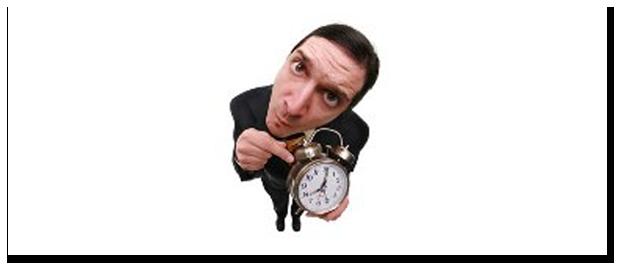 Ser pontual é importante?